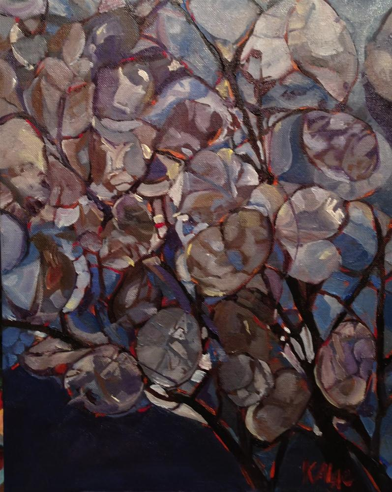 """Money Plants"" original fine art by Kelly Alge"