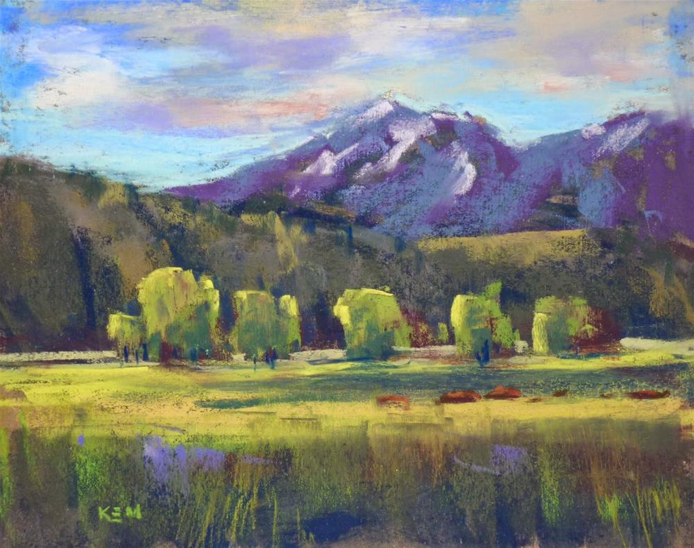 """How to Keep your Plein Air Paintings Organized"" original fine art by Karen Margulis"
