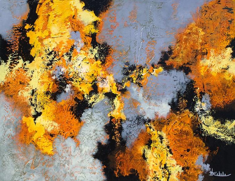 """Cooling Trend"" original fine art by Nancy Eckels"