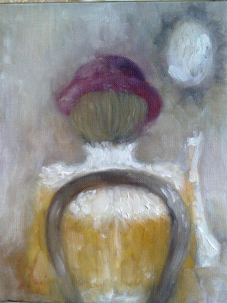"""Reading"" original fine art by Monica Pinotti"