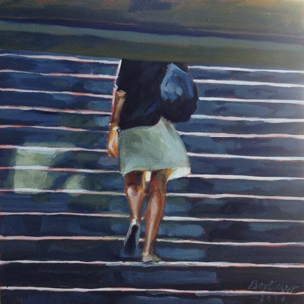 """039 Into the sun"" original fine art by Anja Berliner"