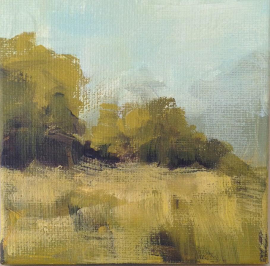 """""""A Pleasant Breeze"""" original fine art by Shannon Bauer"""
