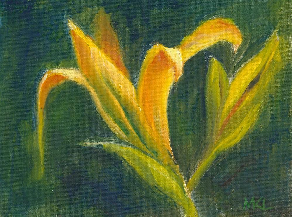 """Glorious Sun"" original fine art by Marlene Lee"