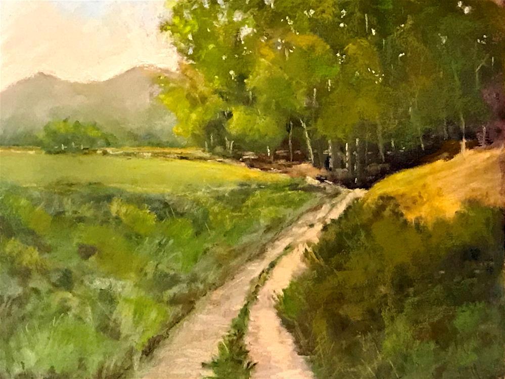 """the path"" original fine art by Betty Argiros"
