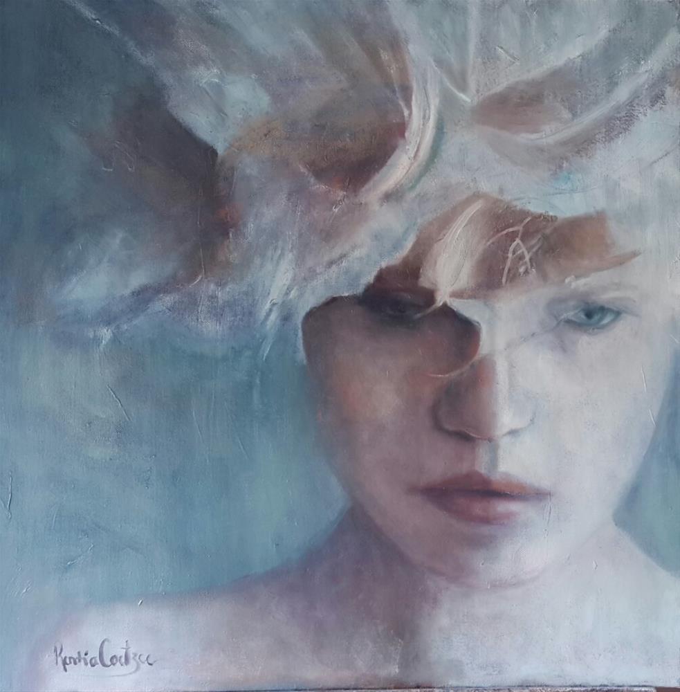 """""""Masquerade"""" original fine art by Rentia Coetzee"""