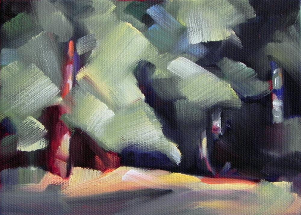 """""""Forest Interior 2"""" original fine art by Cheryl Wilson"""