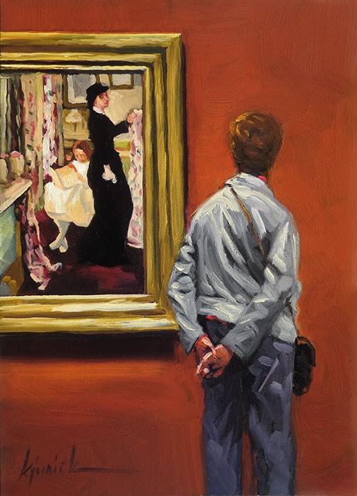 """Giving Pause"" original fine art by Karin Jurick"