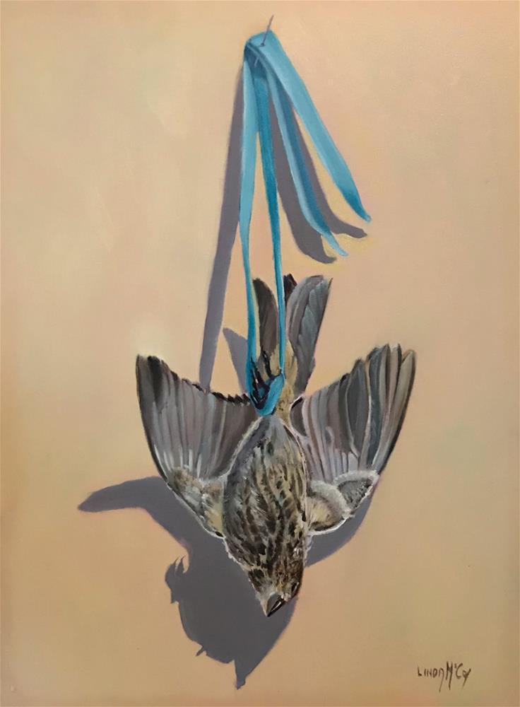 """Little Trip to Heaven"" original fine art by Linda McCoy"