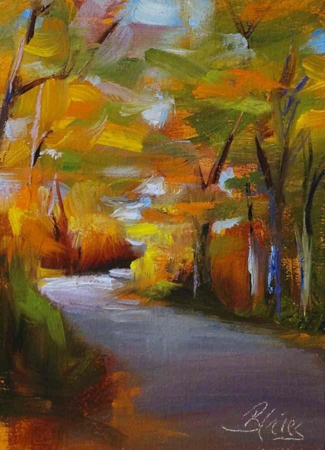 """Turning"" original fine art by Pamela Blaies"