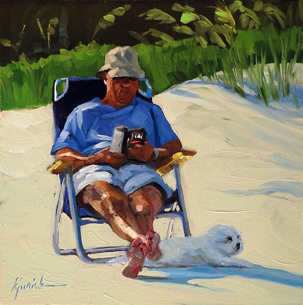 """Retired"" original fine art by Karin Jurick"