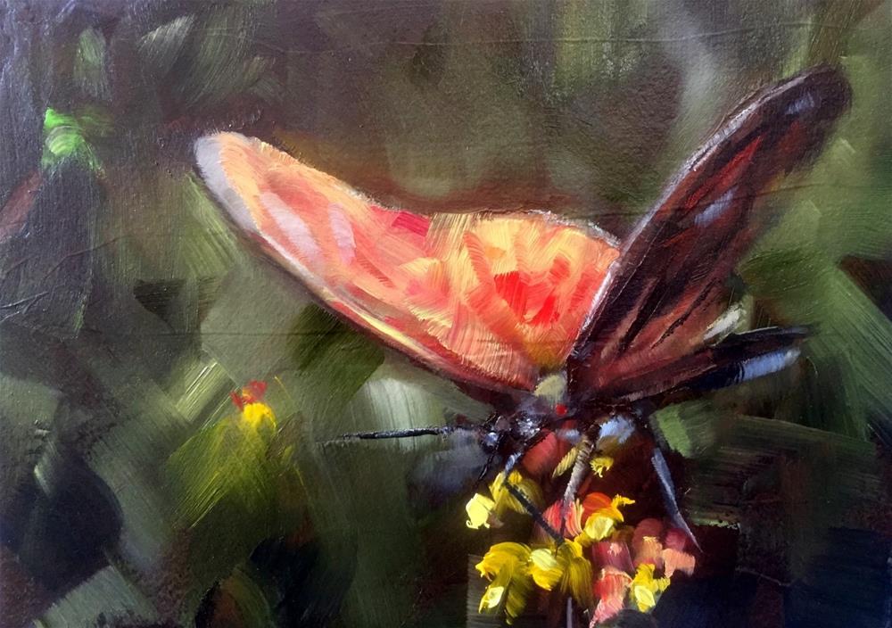 """Butterfly"" original fine art by Gary Bruton"