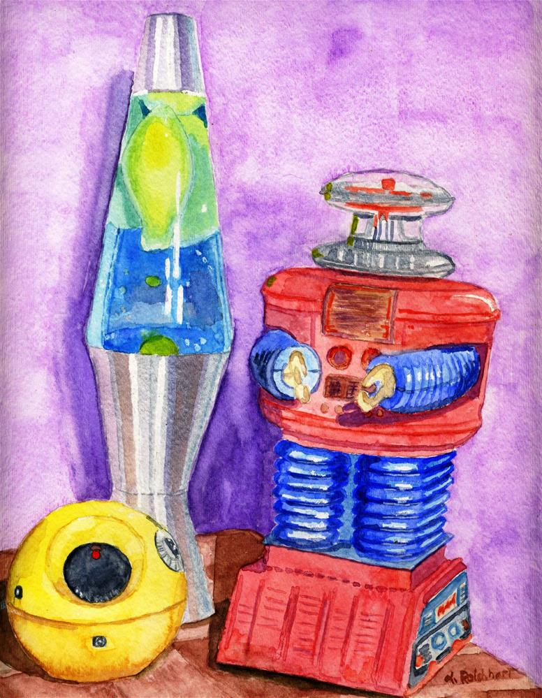 """""""Childhood Memories"""" original fine art by Lynne Reichhart"""