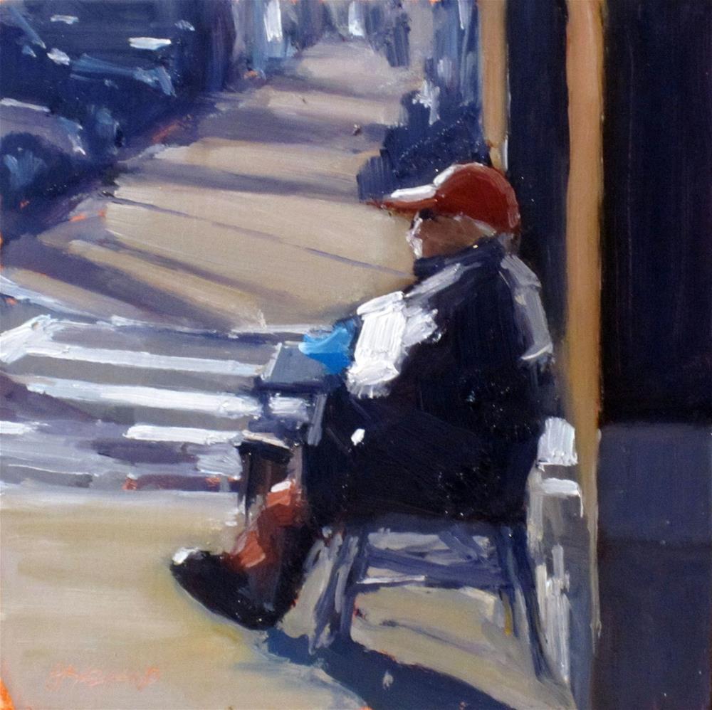 """""""red cap"""" original fine art by Dan Graziano"""