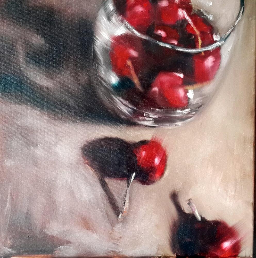 """Two slow pokes"" original fine art by Rentia Coetzee"