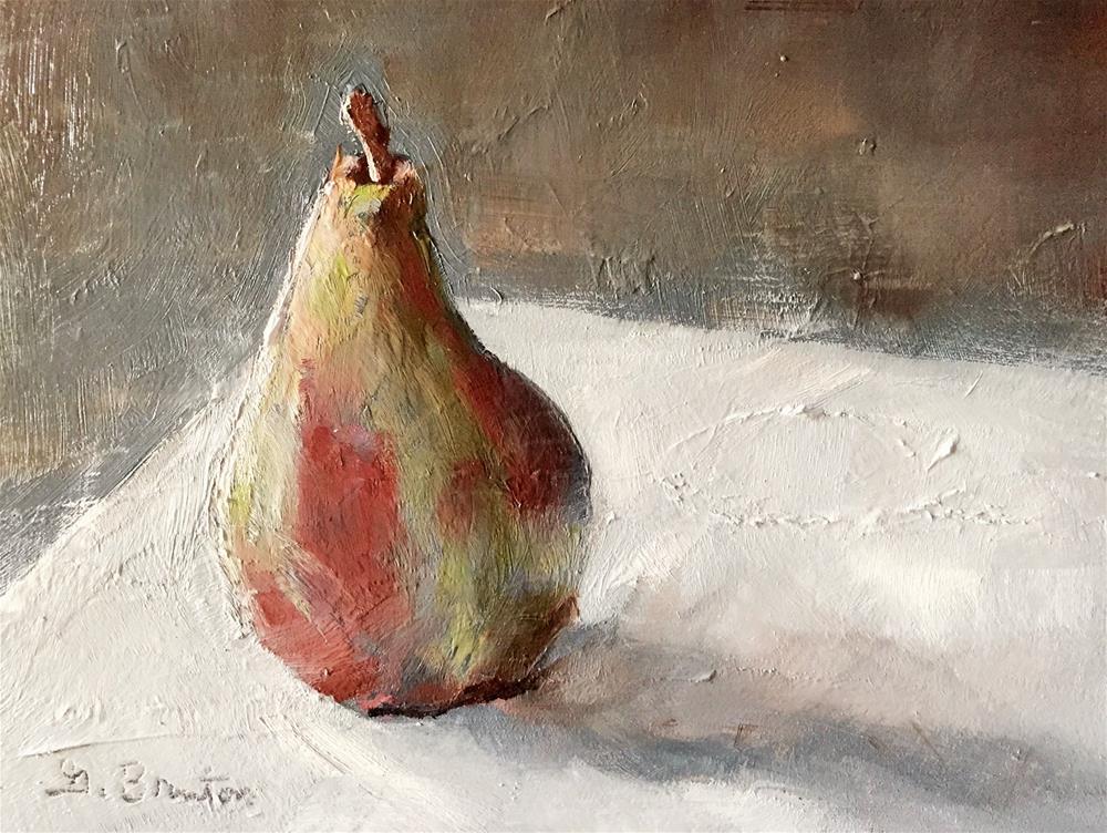 """Poetic Pear"" original fine art by Gary Bruton"