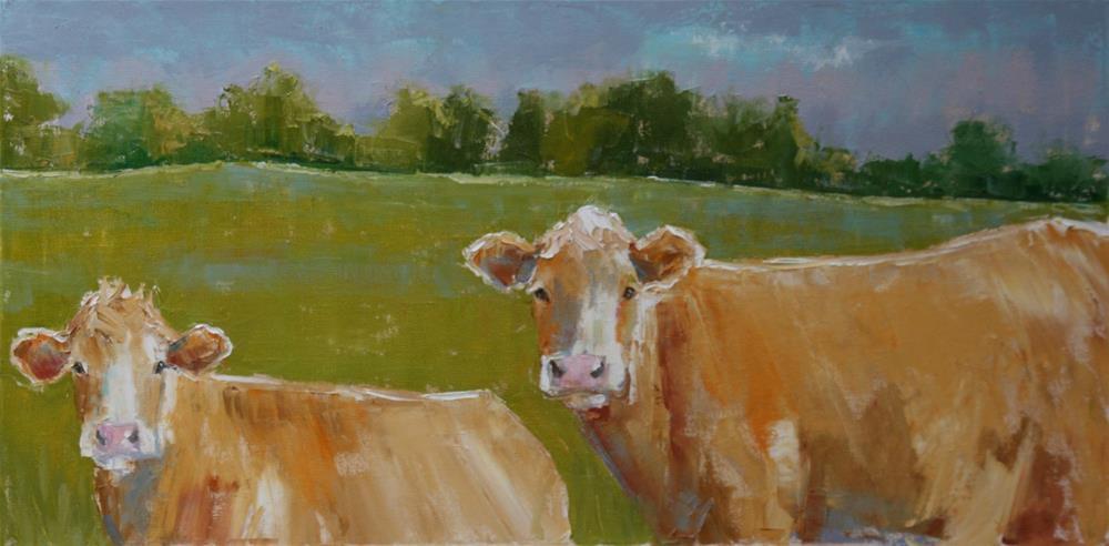 """lovely day"" original fine art by Carol Carmichael"