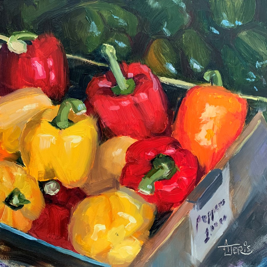 """There's An Orange Pepper"" original fine art by Andrea Jeris"