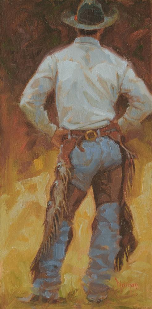 """""""Contrapposto"""" original fine art by Cecile W. Morgan"""