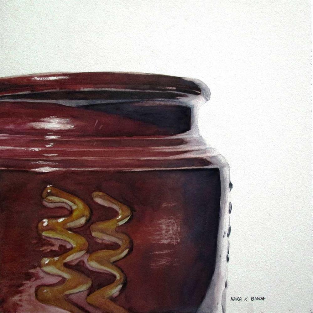 """ZigZags"" original fine art by Kara K. Bigda"