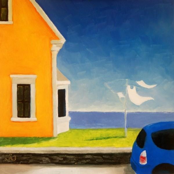 """House By the Sea"" original fine art by Gary Westlake"