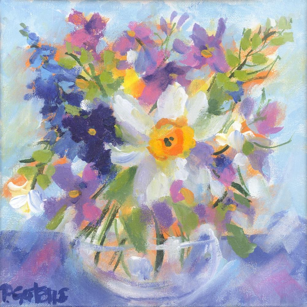 """Early Spring"" original fine art by Pamela Gatens"