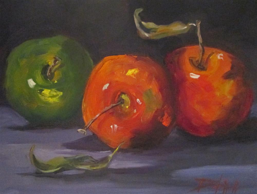 """Apples No. 24"" original fine art by Delilah Smith"