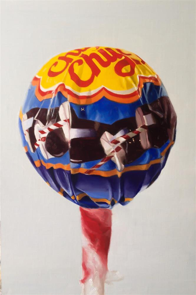 """Chupa Chup 2"" original fine art by James Coates"