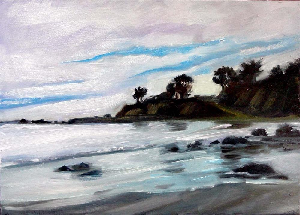 """""""Shelter Cove, Afternoon Reflections"""" original fine art by Cietha Wilson"""