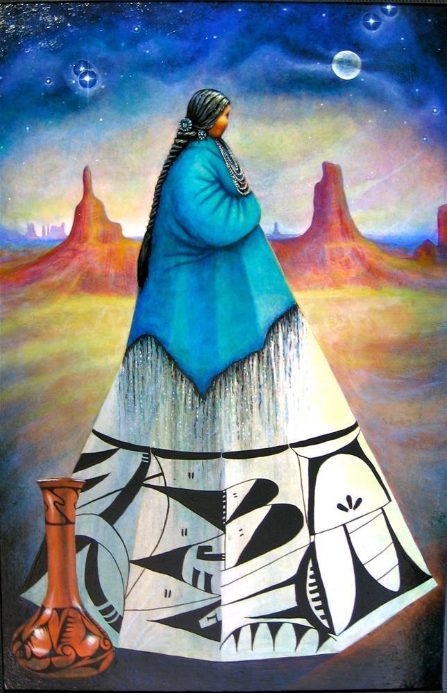 """""""Guardian of the Desert"""" original fine art by Karen Roncari"""