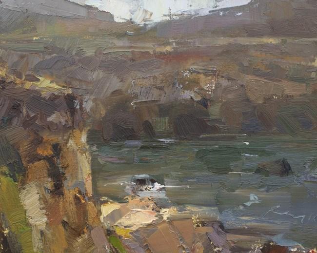 """Seascape California 09"" original fine art by Roos Schuring"