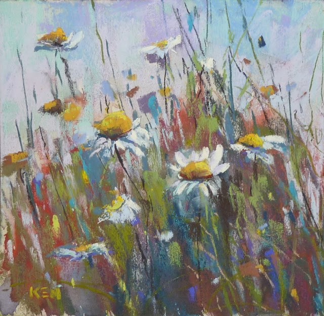 """How to Ship an Unframed Pastel Painting"" original fine art by Karen Margulis"