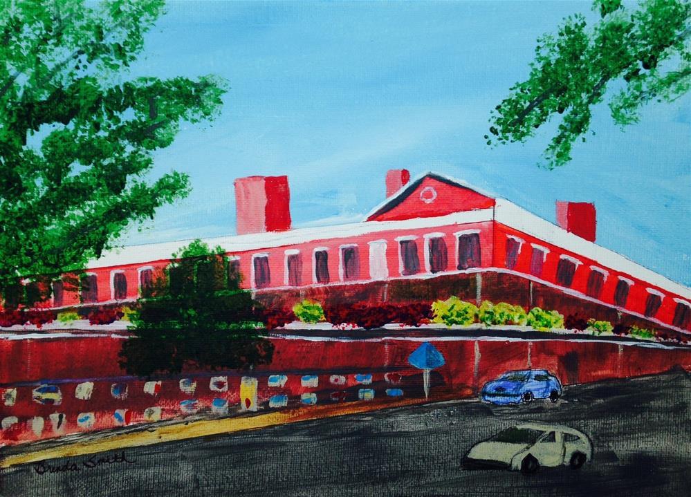 """Wall of Art - New Orleans"" original fine art by Brenda Smith"