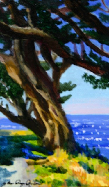 """Wind Blown"" original fine art by JoAnne Perez Robinson"