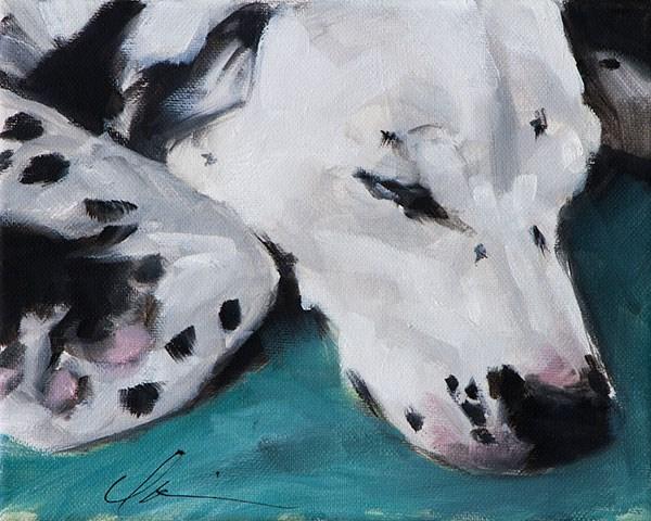 """Lucy"" original fine art by Clair Hartmann"