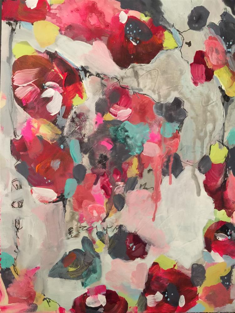 """""""164 Afield"""" original fine art by Jenny Doh"""