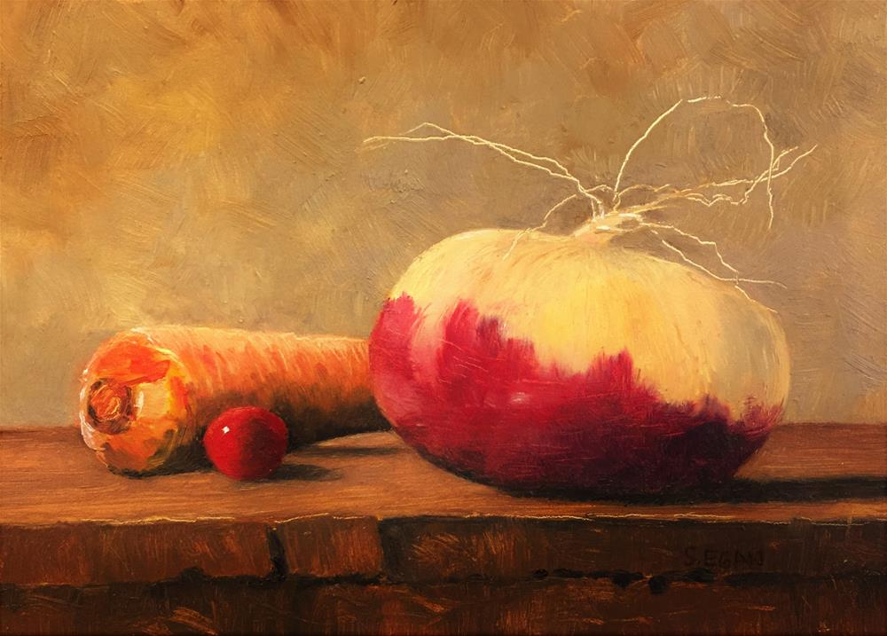 """Roots"" original fine art by Sharon Egan"