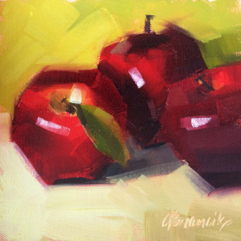 """""""Tres Deliciosos"""" original fine art by Candace Brancik"""