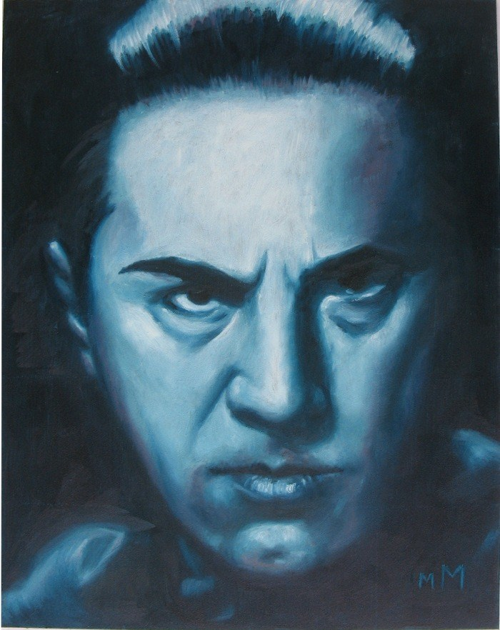 """Bela"" original fine art by Melisa McCurley"