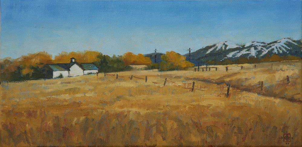 """Loooking Towards Winter"" original fine art by Carol Granger"