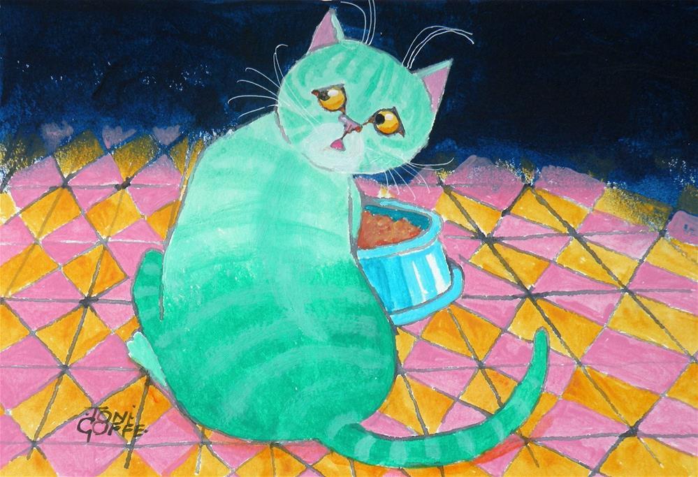 """What's Muesli?"" original fine art by Toni Goffe"