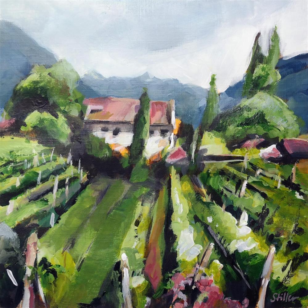 """3637 Winery View"" original fine art by Dietmar Stiller"