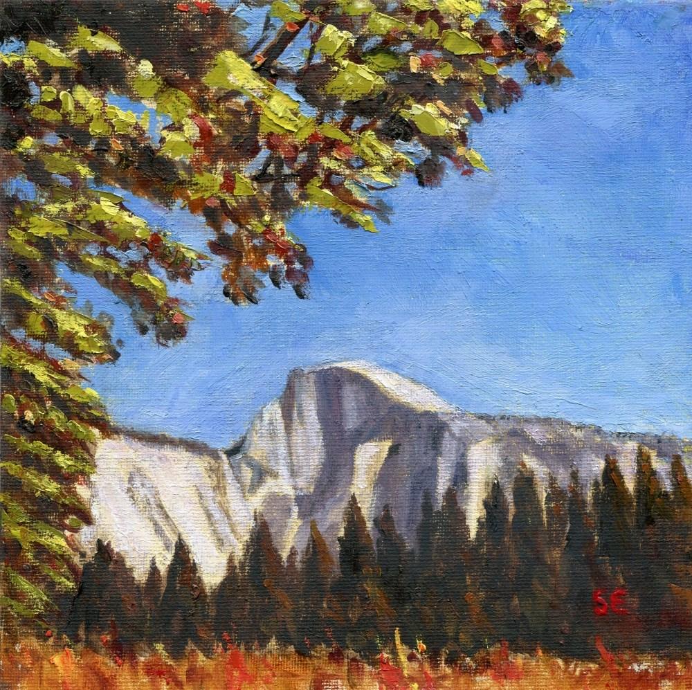 """""""Yosemite Autumn"""" original fine art by Stanley Epperson"""