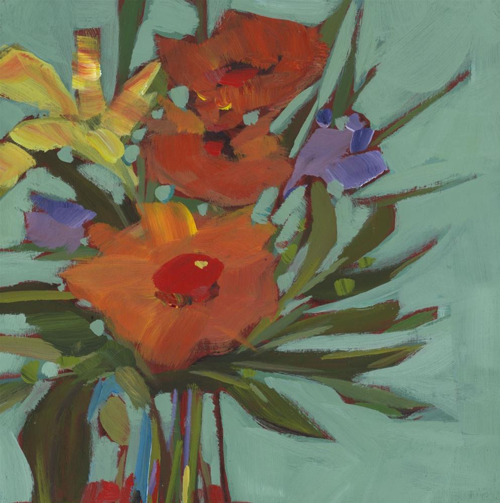 """0767: Gift of Health"" original fine art by Brian Miller"