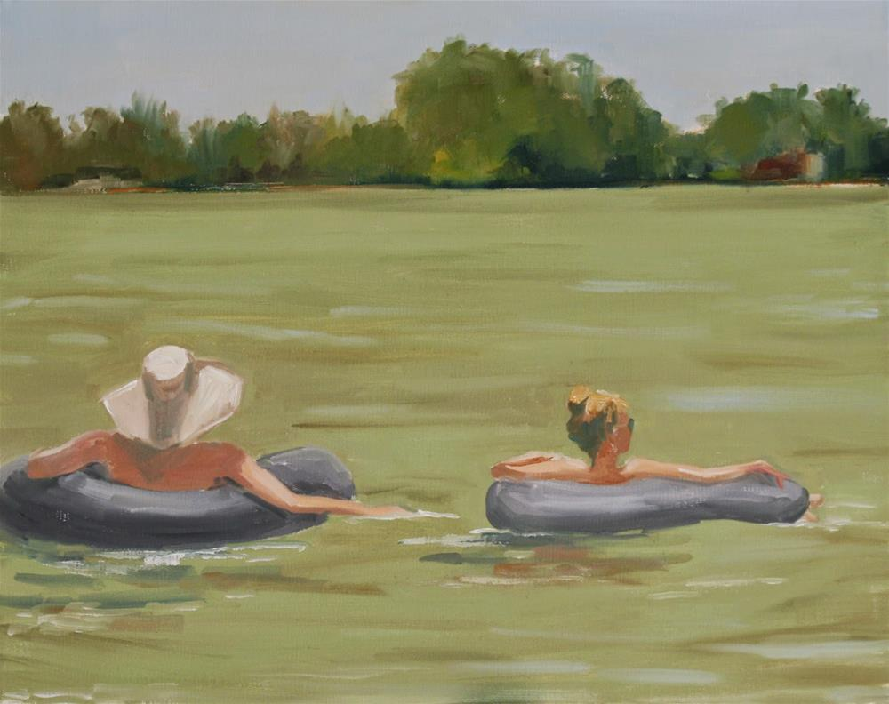 """at ease"" original fine art by Carol Carmichael"