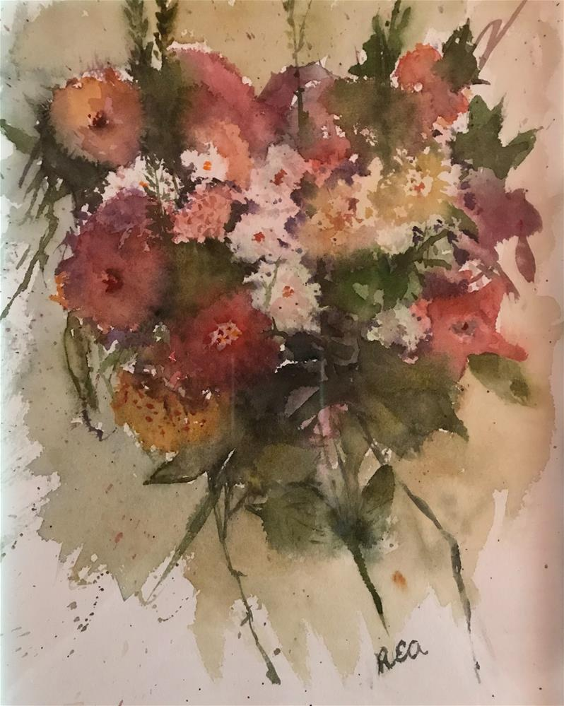 """Mixed bouquet "" original fine art by Betty Argiros"