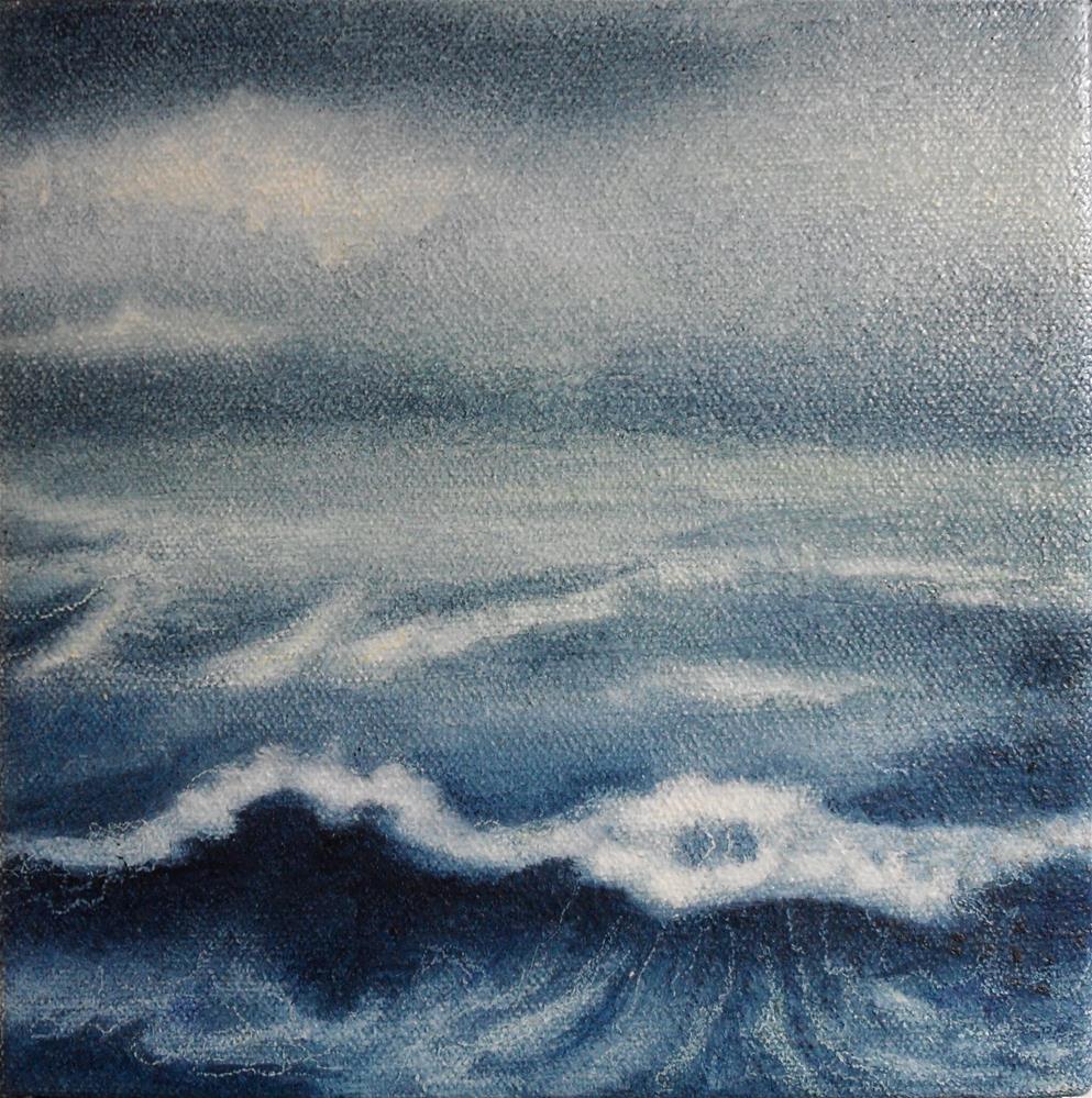 """""""Waters Called Seas"""" original fine art by Karen Roncari"""