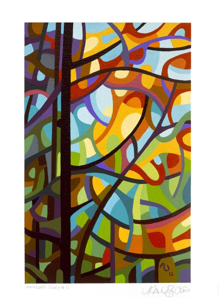"""Landscape Study #11"" original fine art by Mandy Budan"