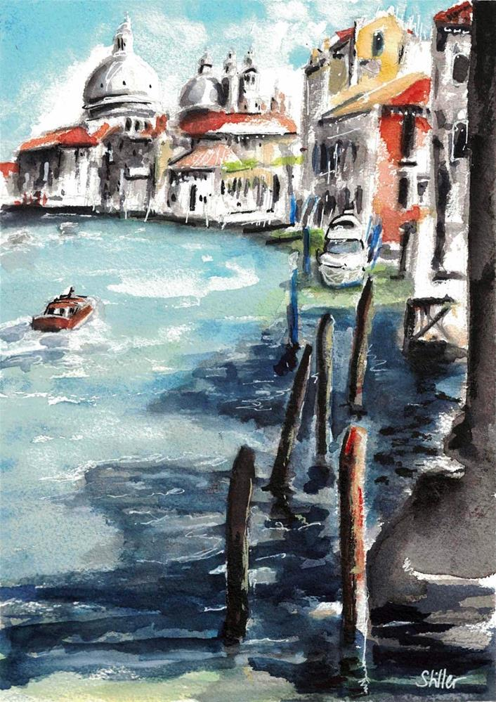 """3199 Venetian Abondoned Estates"" original fine art by Dietmar Stiller"