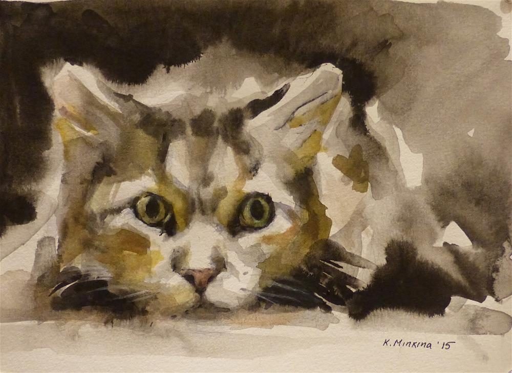 """adopt64"" original fine art by Katya Minkina"