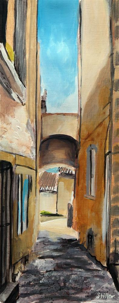 """2603 Alley View 2"" original fine art by Dietmar Stiller"